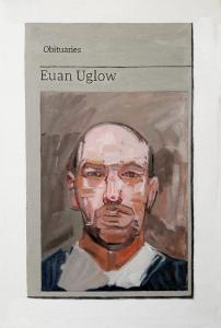 Hugh Mendes | Obituary: Euan Uglow | 2018 | Oil on linen | 30x20cm