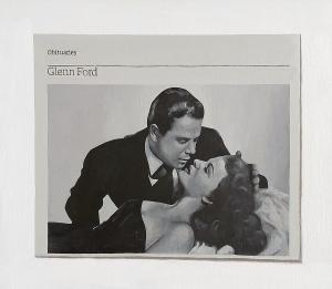 Hugh Mendes | Obituary: Glenn Ford | 2006 | Oil on linen | 35x40cm