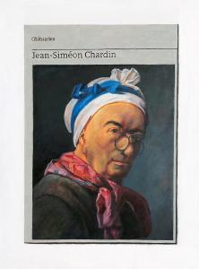 Hugh Mendes | Obituary: Jean Siméon Chardin | 2021 | Oil on linen | 40x30cm