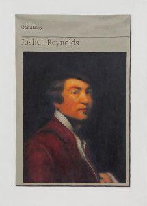 Hugh Mendes | Obituary | Joshua Reynolds | 2018 | Oil on linen | 35x25cm