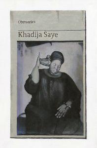 Hugh Mendes | Obituary: Kadija Saye | 2020 | Oil on linen | 30x20cm