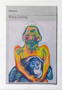 Hugh Mendes | Obituary: Maria Lassnig | 2021 | Oil on linen | 35x25cm