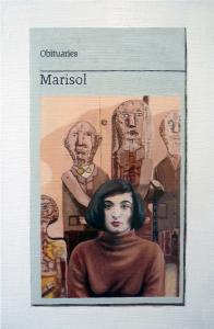 Hugh Mendes | Obituary: Marisol | 2016 | Oil on linen | 30x20cm