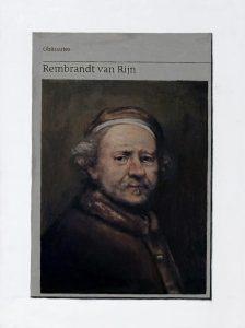 Hugh Mendes | Obituary: Rembrandt Van Rijn | 2019 | Oil on linen | 40x30cm
