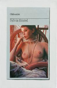 Hugh Mendes | Obituary: Sylvia Krystal | 2021 | Oil on linen | 30x20cm