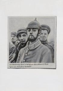 Hugh Mendes | On Christmas Day | 2014 | Oil on linen | 30x20cm