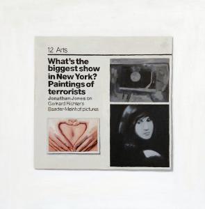 Hugh Mendes | Paintings of Terrorists | 2006 | Oil on linen | 40x40cm