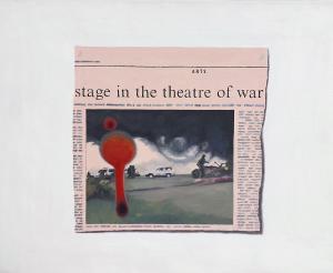 Hugh Mendes | Theatre of War | 2007 | Oil on linen | 35x45cm