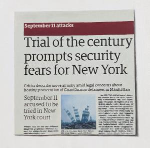 Hugh Mendes | Trial of the Century | 2010 | Oil on linen | 25x25cm