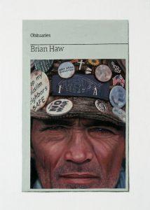 Hugh Mendes | Obituary: Brian Haw | 2011 | Oil on linen | 35.5x25cm