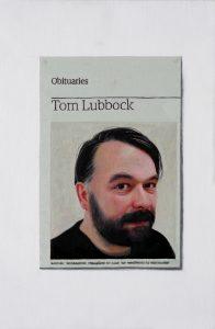 Hugh Mendes | Obituary: Tom Lubbock | 2011 | Oil on linen | 30.5x20cm