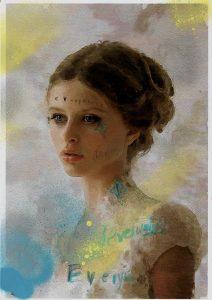Sam Jackson | Chronicles 311-X | 2021 | Spray paint, ink, pencil paper | 29.7x21cm