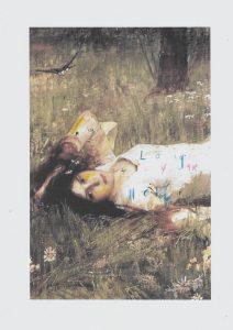 Sam Jackson | Chronicles 350-X | 2021 | Spray paint, ink, pencil on paper | 29.7x21cm