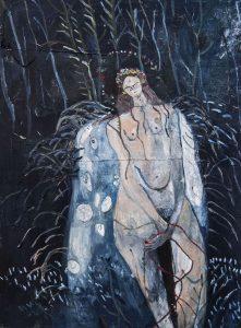 Melissa Kime | Tummy Ache | 2019 | Oil on canvas | 130x110cm