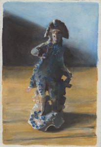 Richard Moon | The Dandy VI (colour version) | 2021 | Water soluble graphite on paper | 28.5x19cm