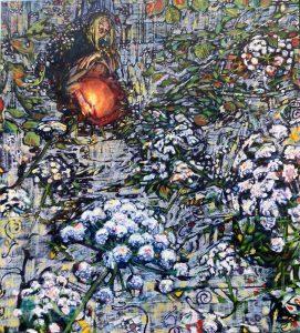 Shepherd,-Dominic-'Hedge-Witch-102x92cm-Oil-on-Linen-2021
